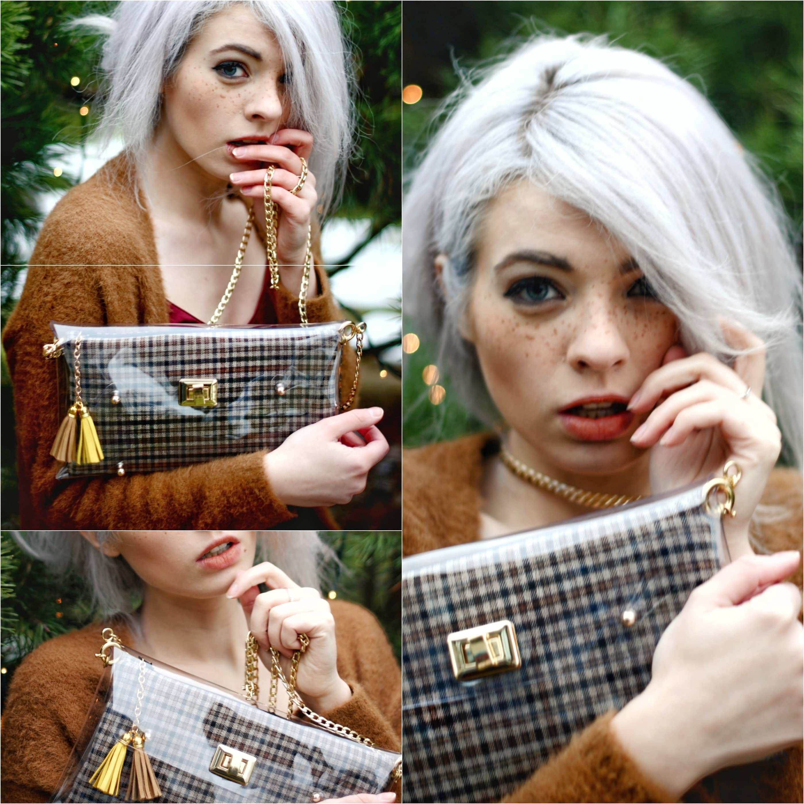Tartan clutch Bag - Tartan Handbags - Irish clutch bags by Mardere
