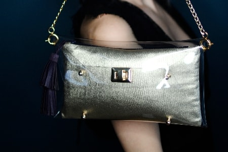 Gold Clutch bags - Irish Nadbags - Handbags online by mardere