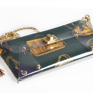 Sacvoyage Green Clutch bag by Mardre - Evening clutch bags online