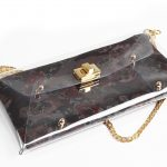 Violet Flowers Clutch bag by Mardre - Evening clutch bags online