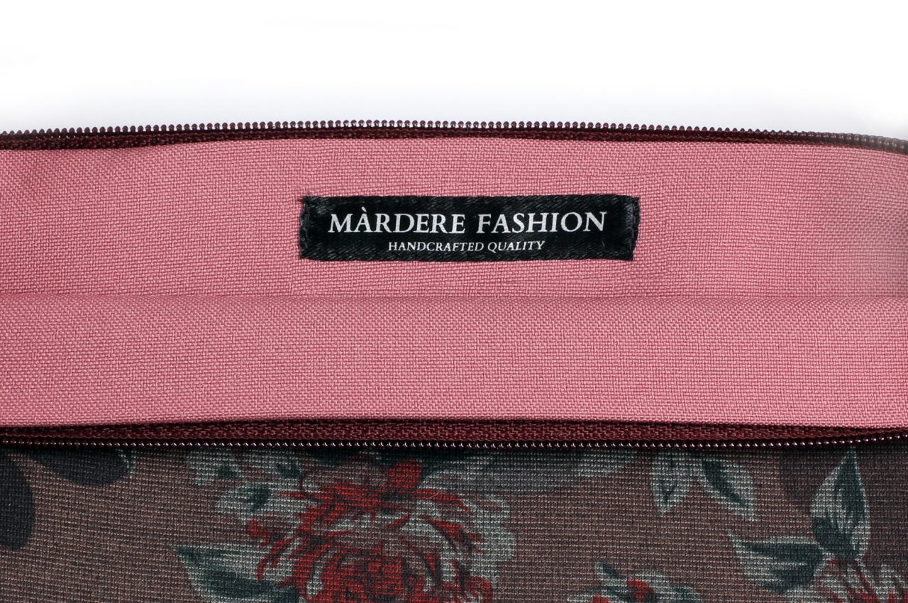 Violet Flowers Clutch bag by Mardre – Evening clutch bags 7