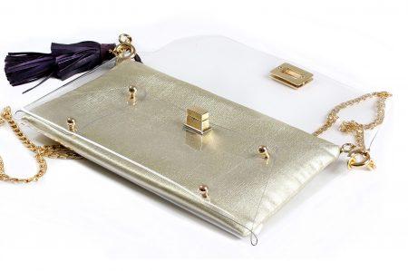 Yemen Gold Clutch bag by Mardre - Evening clutch bags online