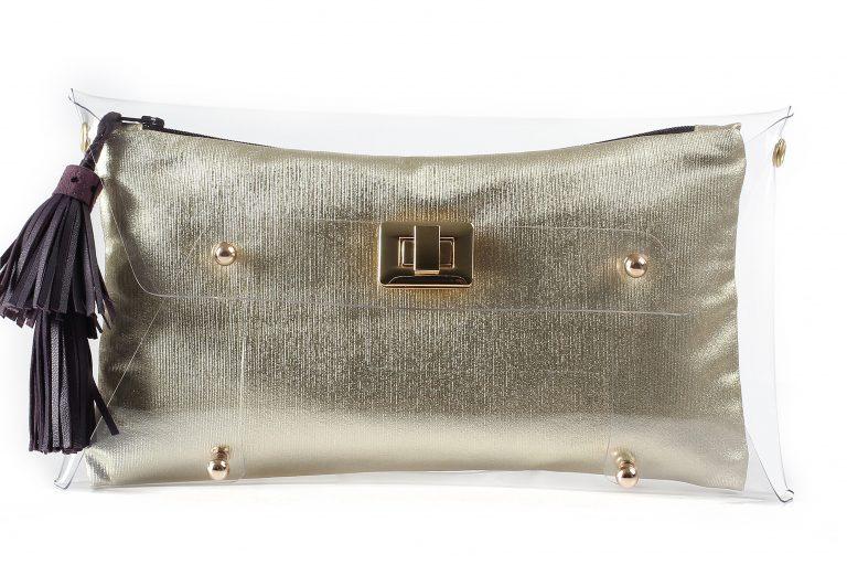 Yemen Gold Clutch bag by Mardre – Evening clutch bags online